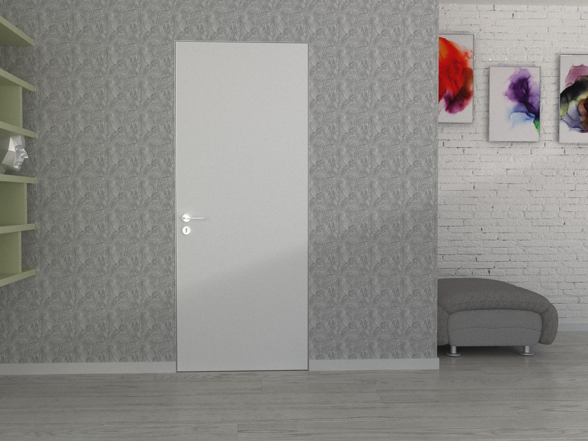 Картинка Скрытые эмалированные двери 1