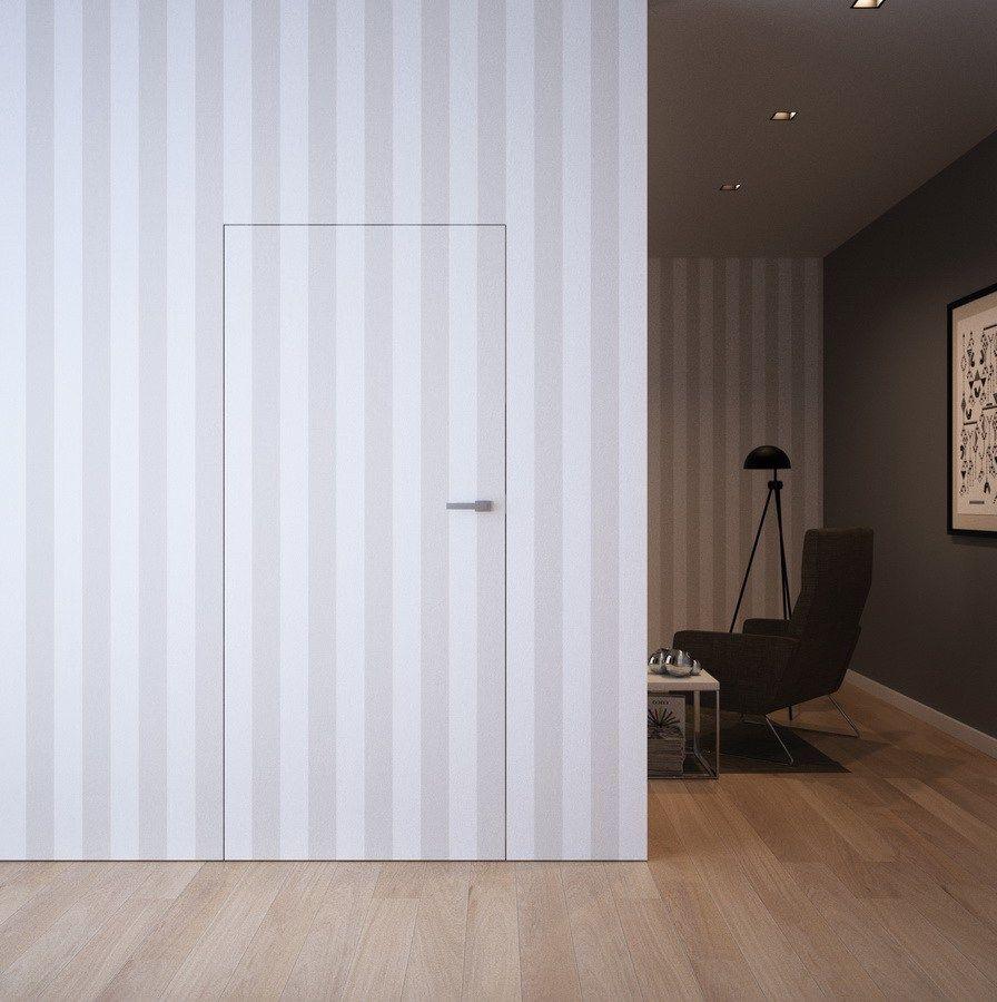 Картинка Скрытые двери под покраску 3