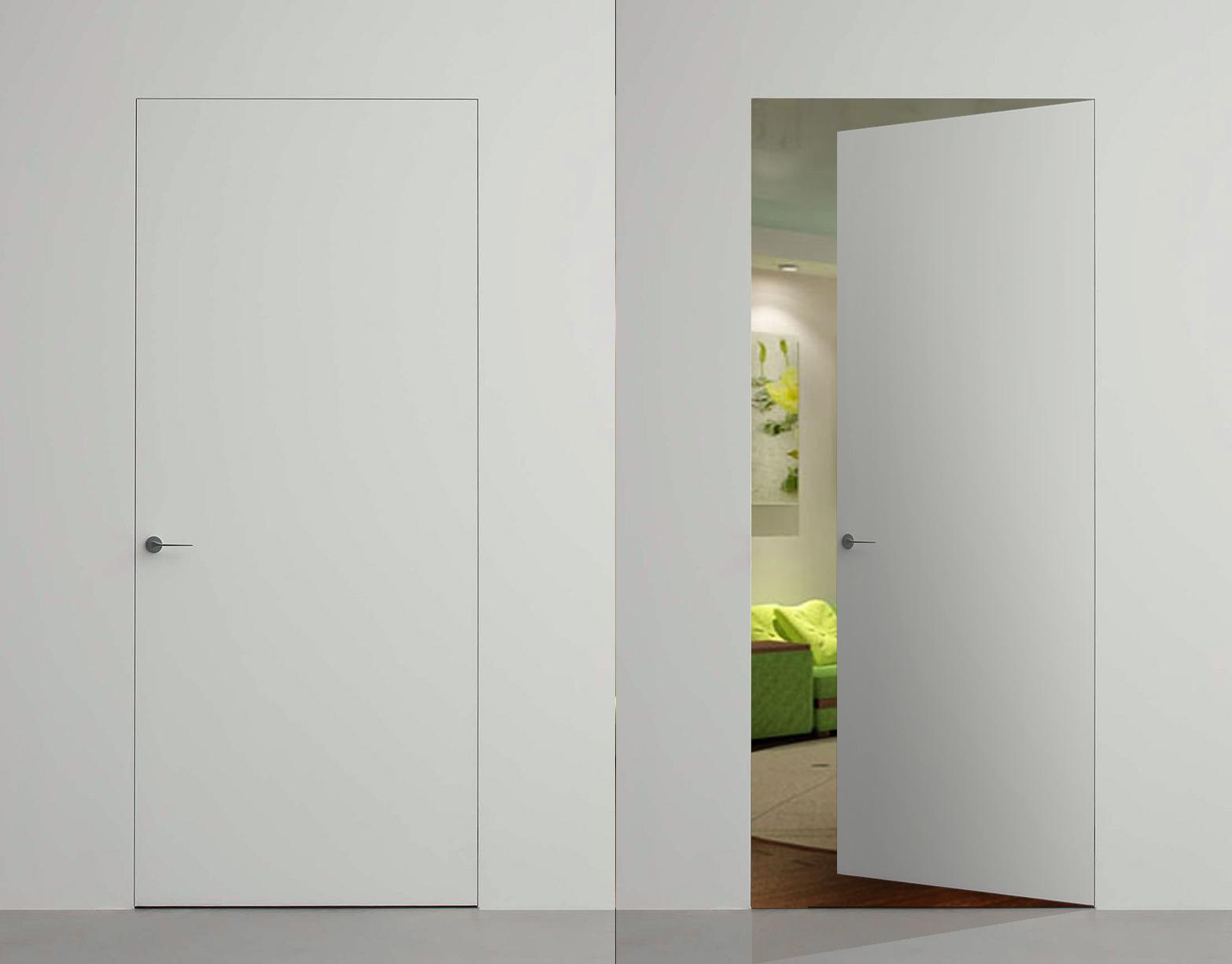 Картинка Скрытые эмалированные двери 7